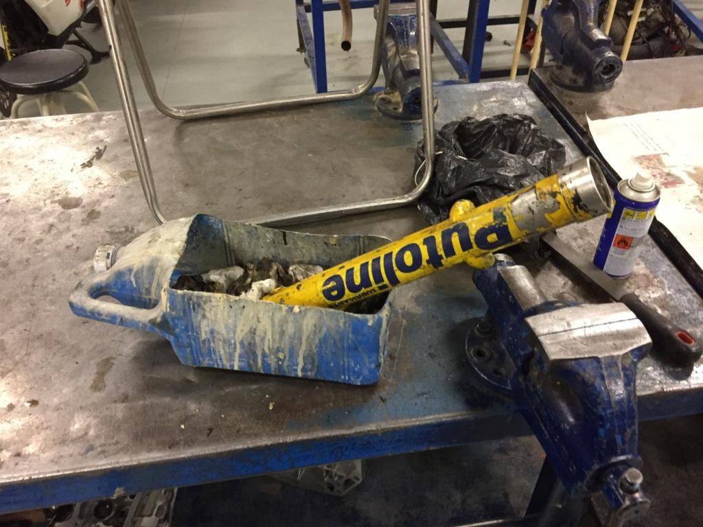 Restauración y preparación de la Puch Cobra 74 tt  Ba37a310