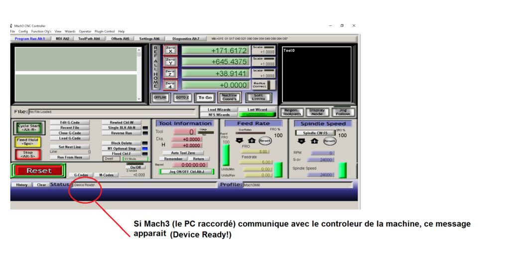 CNC 3040 et Mach3 Device11