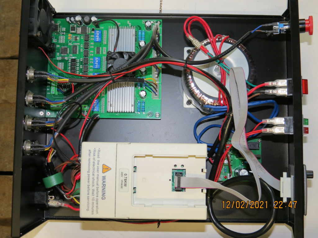CNC 6040 4 axes neuve et Mach3 fourni avec. Img_0013