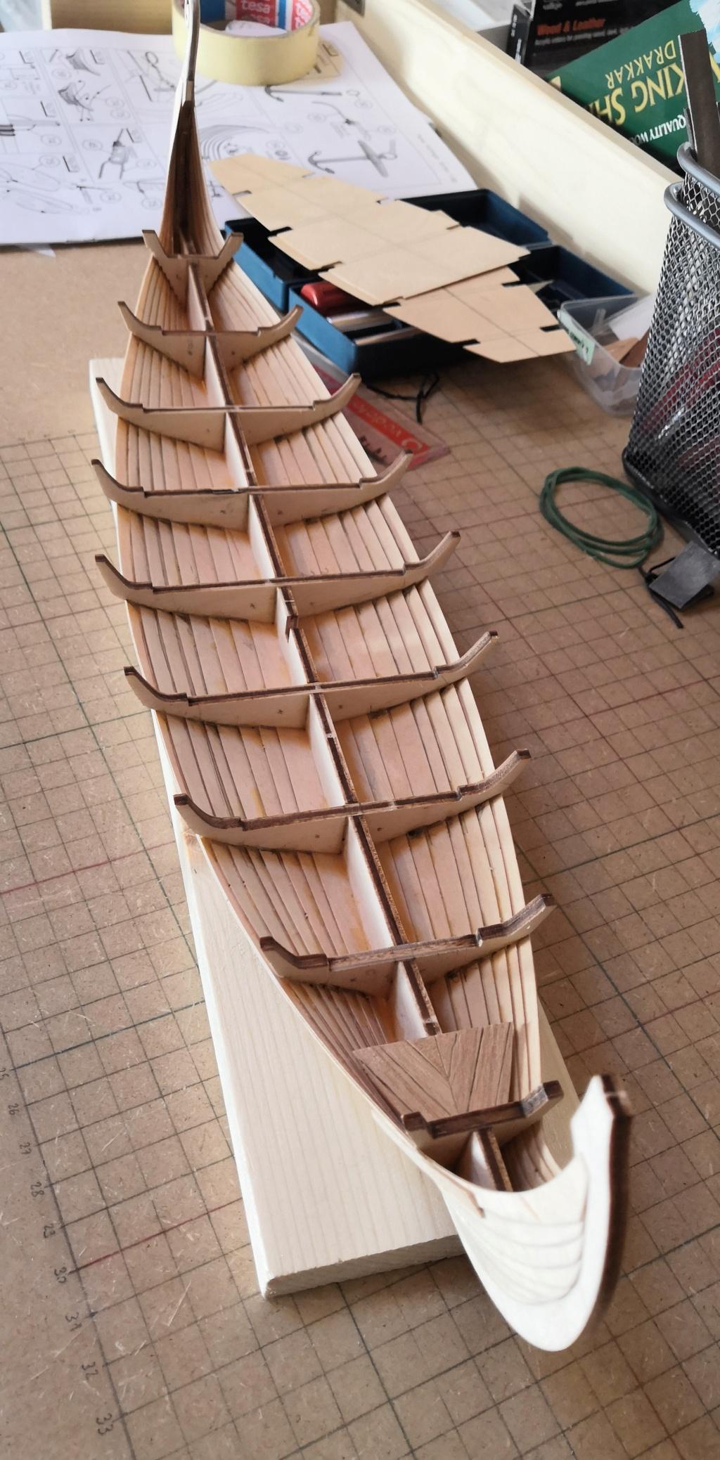 Drakkar Vichinga - Kit di montaggio Amati 1:50 Img_2034