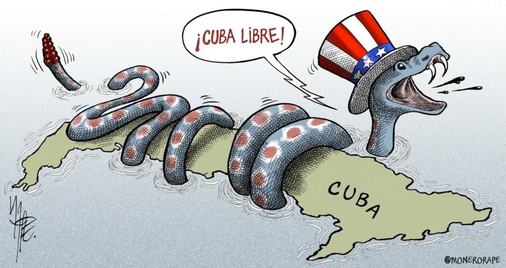 Estamos cansados de que los anticomunistas agredan a Cuba 20210710
