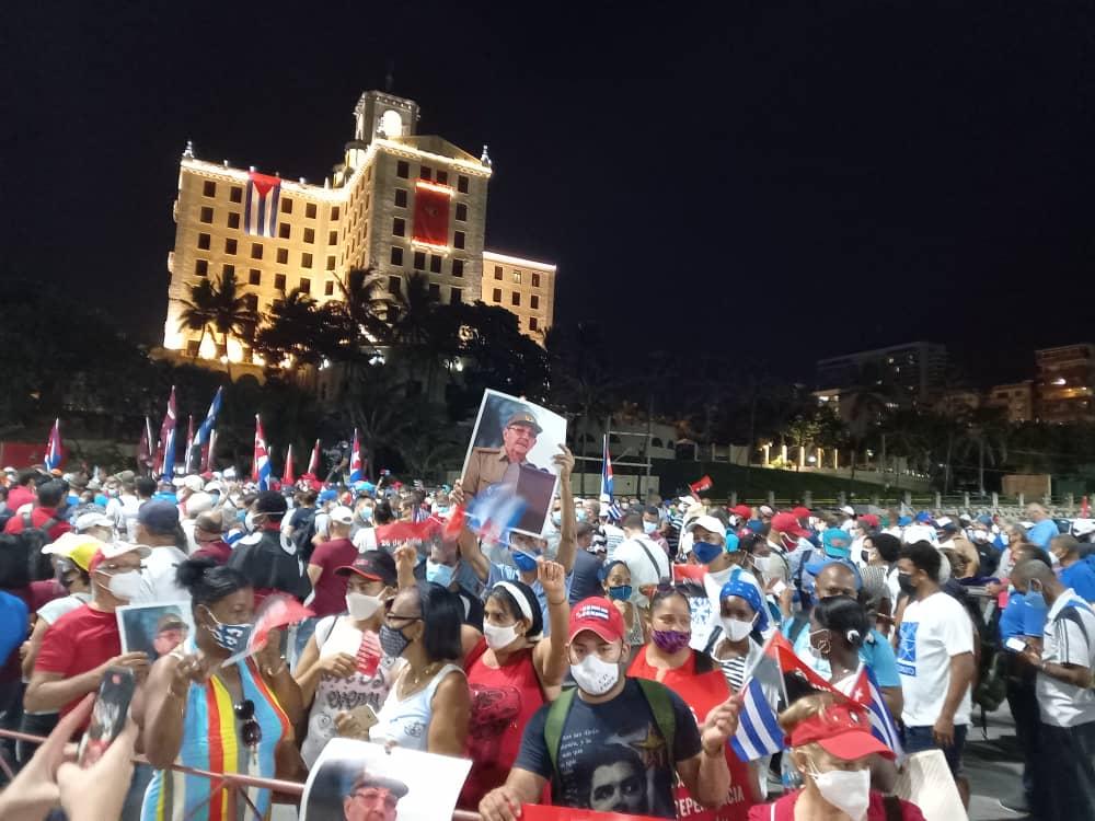 Estamos cansados de que los anticomunistas agredan a Cuba - Página 2 20210711