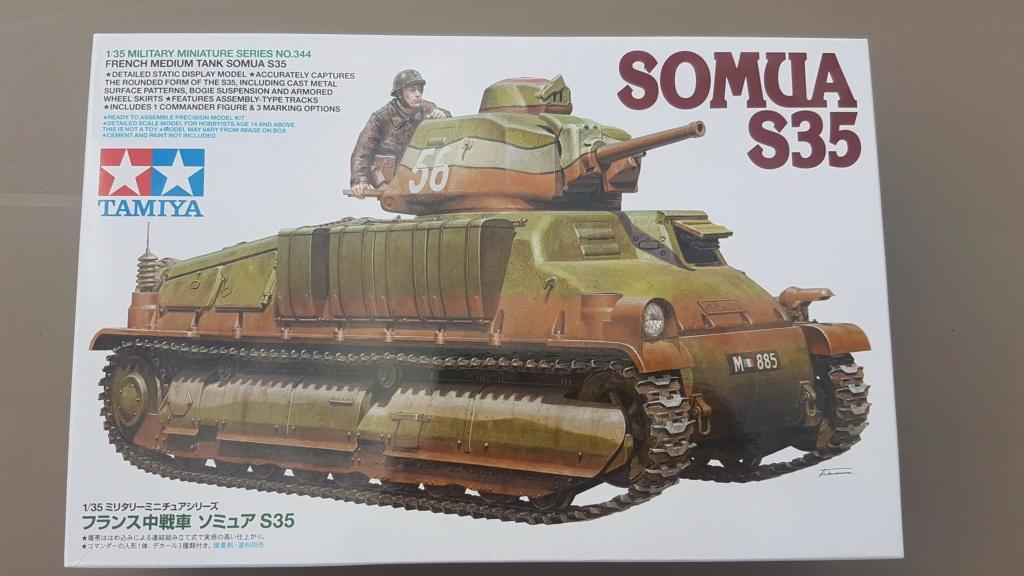 Somua S35 (Tamiya 1/35°) 20210611