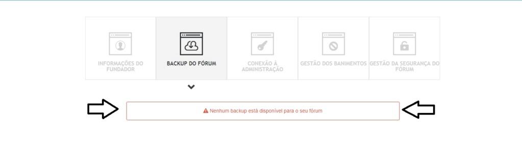 """Retirar o fórum """"Classificados"""" e ter acesso ao mesmo mais tarde Backup10"""