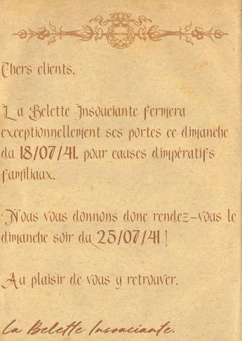 Les annonces de la Belette Insouciante 9f453311