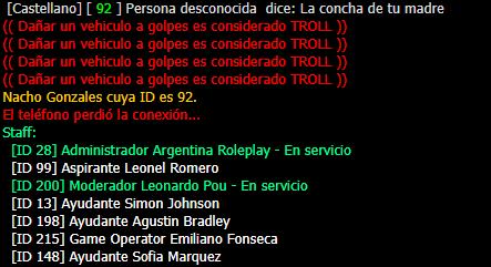 Reporte a Nacho Gonzales Lgo11