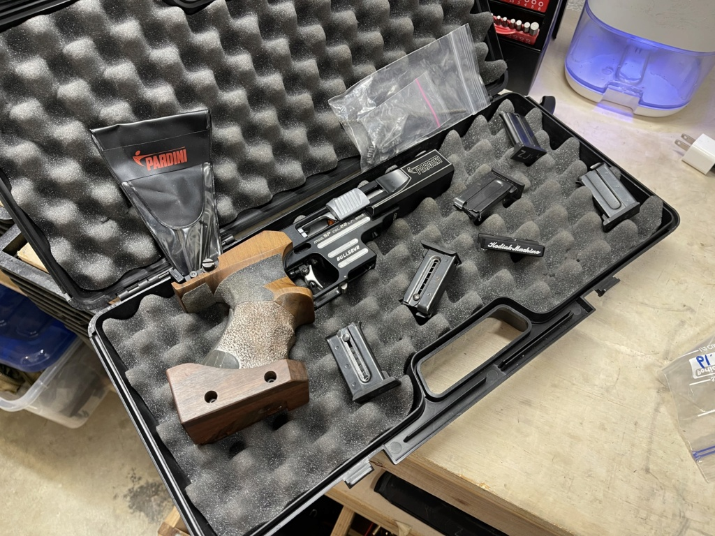 SPF-Pardini SP Bullseye w/ KM Micro Mount and 5 Mags - Central Ohio 97b12d10