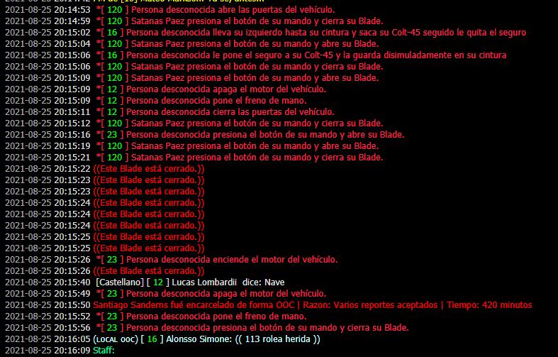 Alonsso Simone [DM] Lucas Lombardii [Bad driving, Car Kill, DM] Imagen24