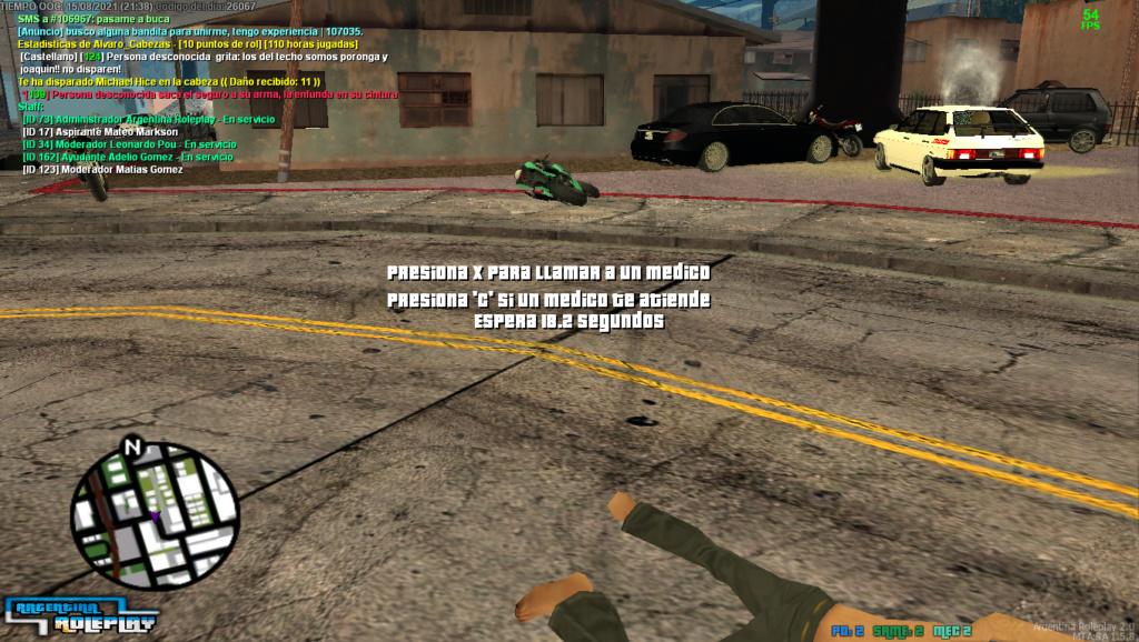 Reporte a Joaquin emilio Y Michael hice por matar sin motivos dos veces en menos de 5 minutos Mta_sa12