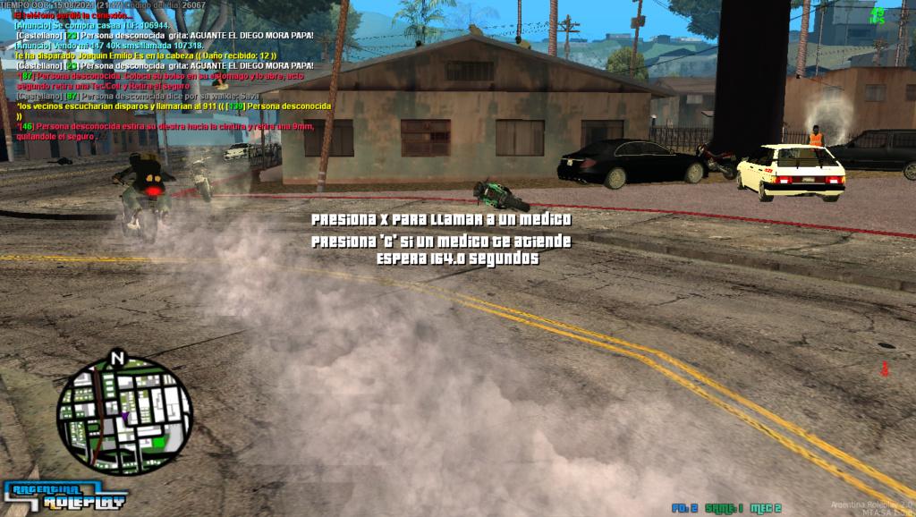 Reporte a Joaquin emilio Y Michael hice por matar sin motivos dos veces en menos de 5 minutos Mta_sa13