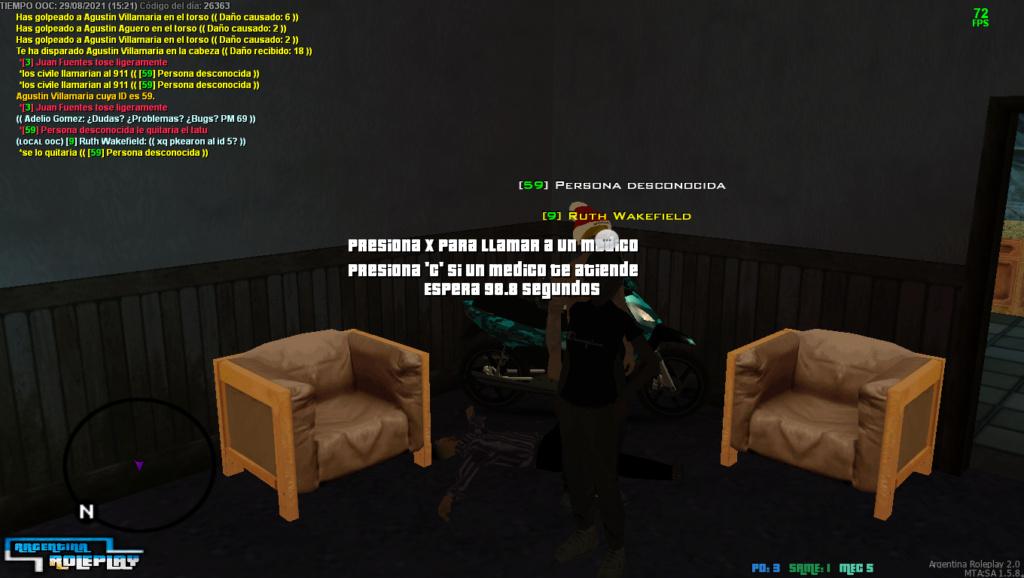 [Reporte] Agustin Villamaria [NIP,NULO ROL DE ENTORNO Y PG] Mta_sa22
