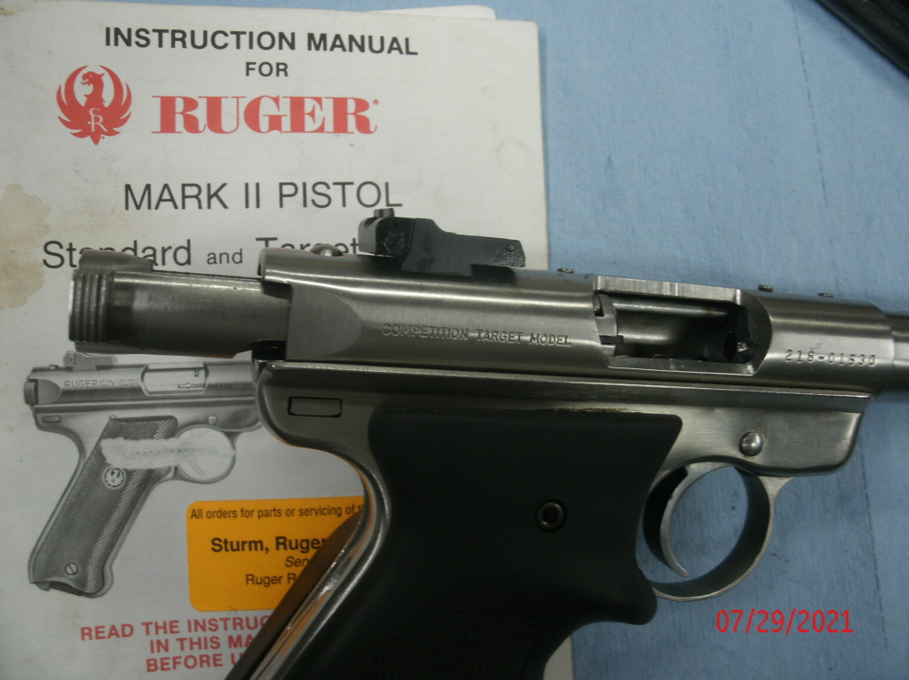 WTB Ruger Mark II (Hunter or Target) Gedc0010