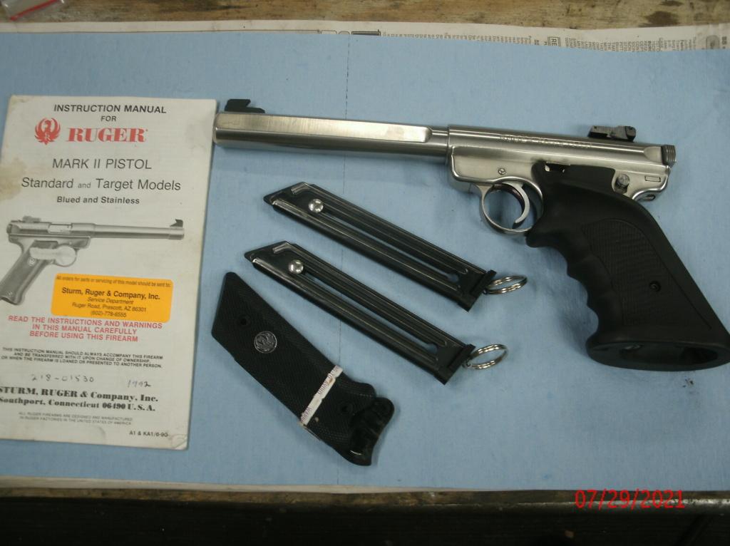 WTB Ruger Mark II (Hunter or Target) Gedc0011