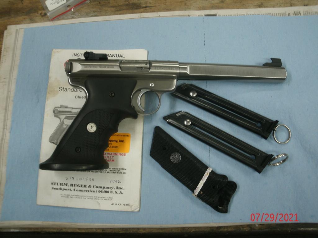 WTB Ruger Mark II (Hunter or Target) Gedc0012