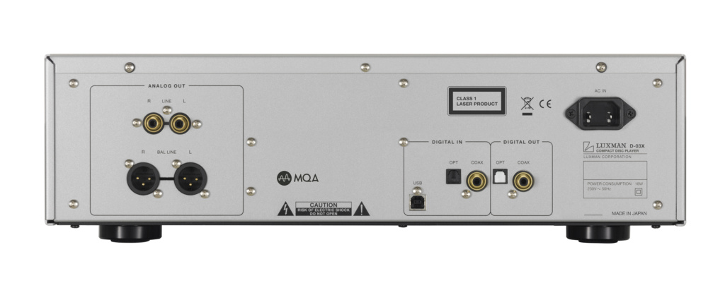 Luxman D-03X CD Player Luxman11