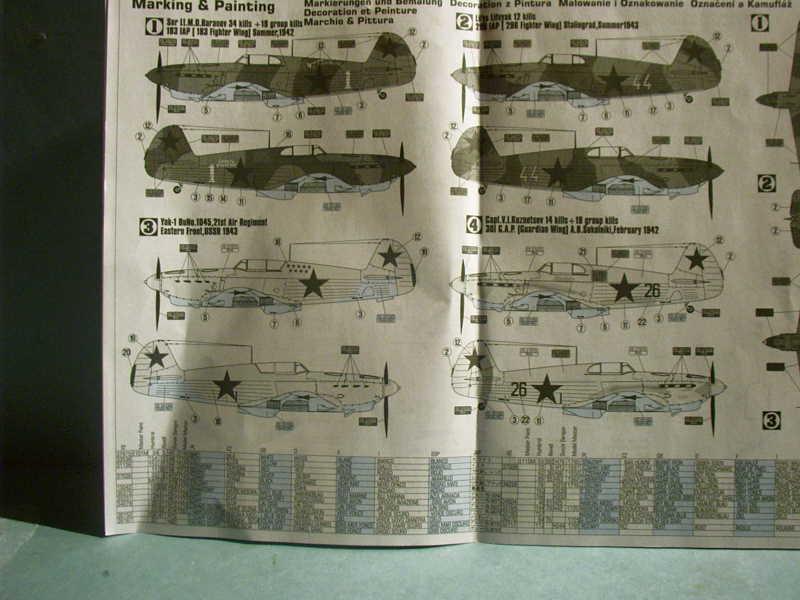 Multi-présentations MASTERCRAFT d avions au 1/72ème Imag0045