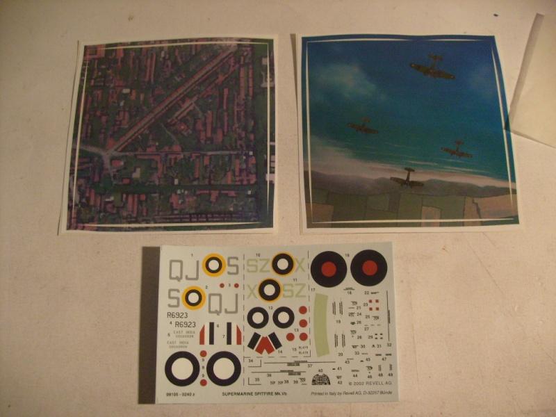 "[Revell]Spitfire MkV ""Magic flight"" au 72 eme S7300813"