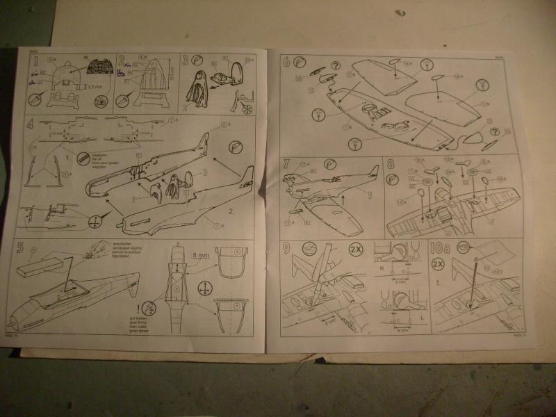 "[Revell]Spitfire MkV ""Magic flight"" au 72 eme S7300815"