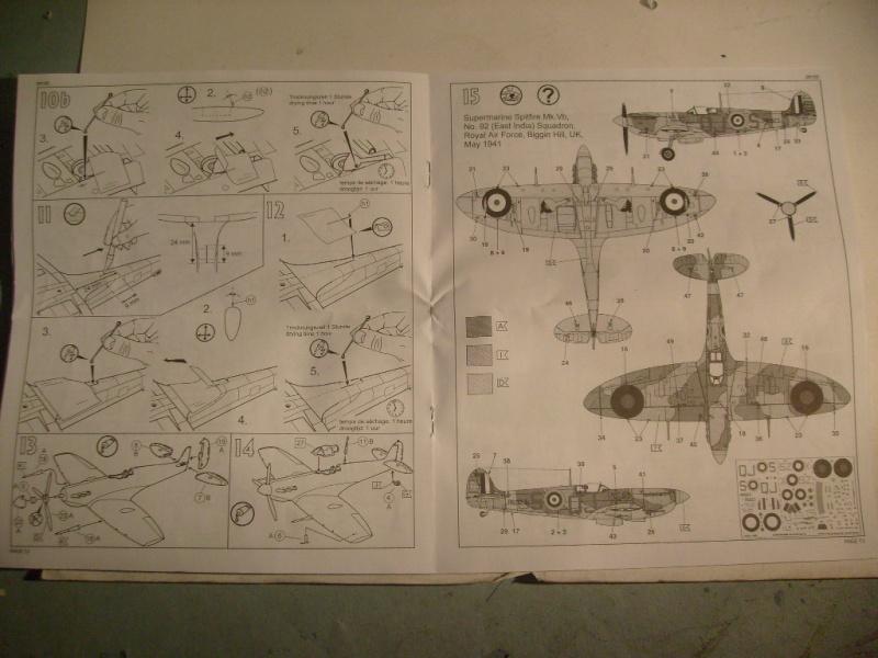 "[Revell]Spitfire MkV ""Magic flight"" au 72 eme S7300816"