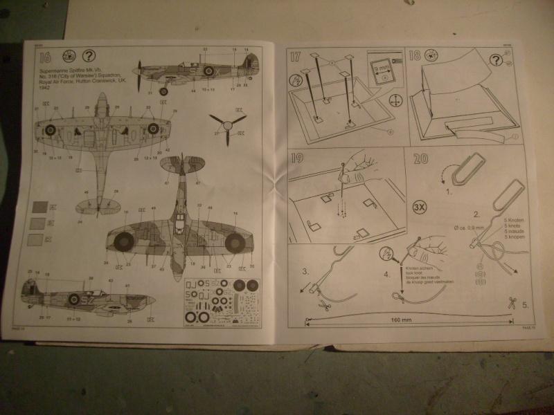 "[Revell]Spitfire MkV ""Magic flight"" au 72 eme S7300817"