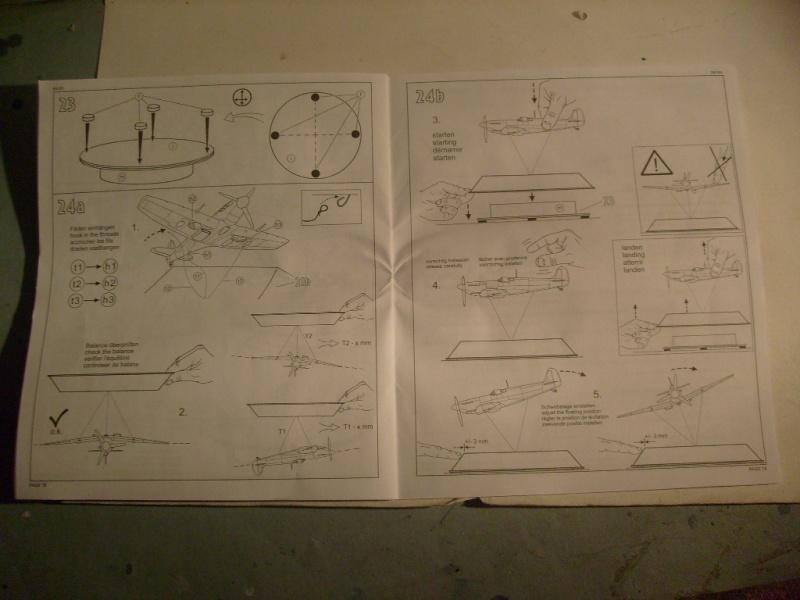 "[Revell]Spitfire MkV ""Magic flight"" au 72 eme S7300819"