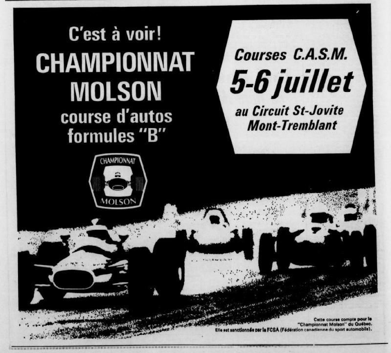 Vielles publicitées de course au Québec Champi10