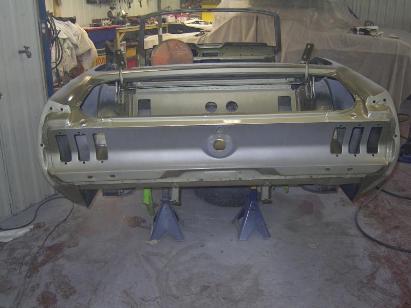 Ma Mustang 1967, 200ci Garage13