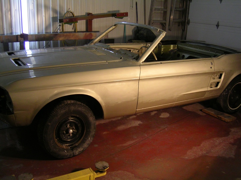 Ma Mustang 1967, 200ci Garage18