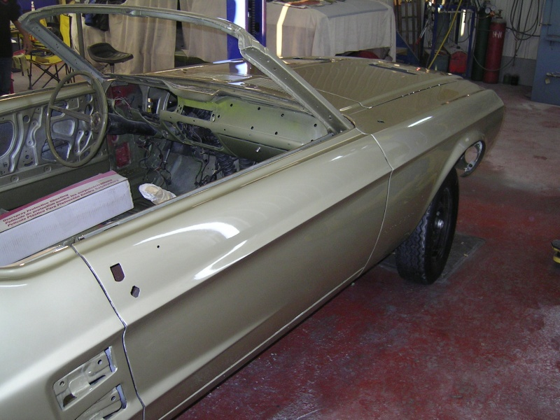 Ma Mustang 1967, 200ci Garage21
