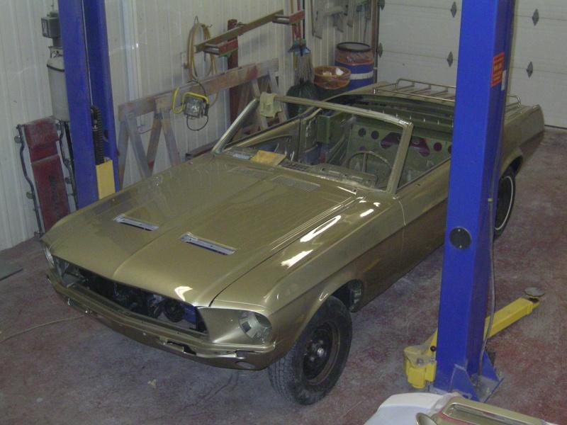 Ma Mustang 1967, 200ci Garage24