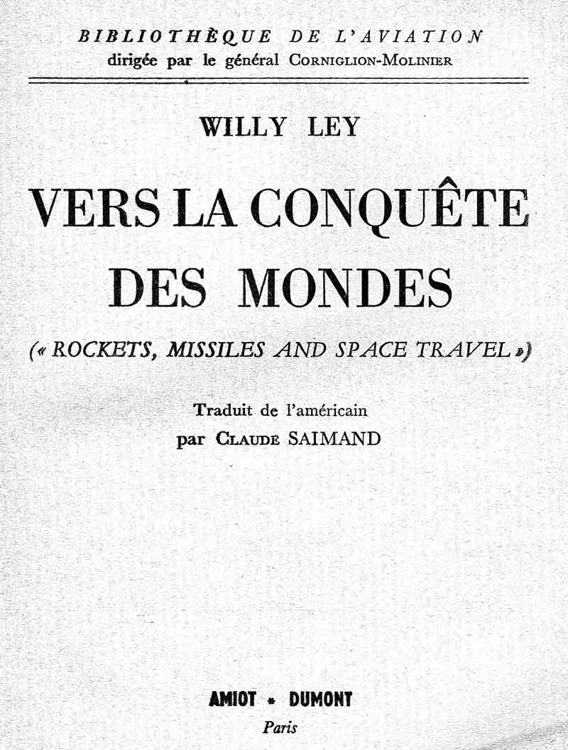 """Livres : """"Vers la Conquête des Mondes"""" de W Ley Vers_c11"""