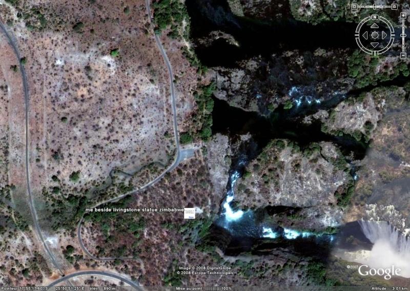 Statue D. Livingstone Victoria Falls, Zimbabwe (défi trouvé) - Page 2 110
