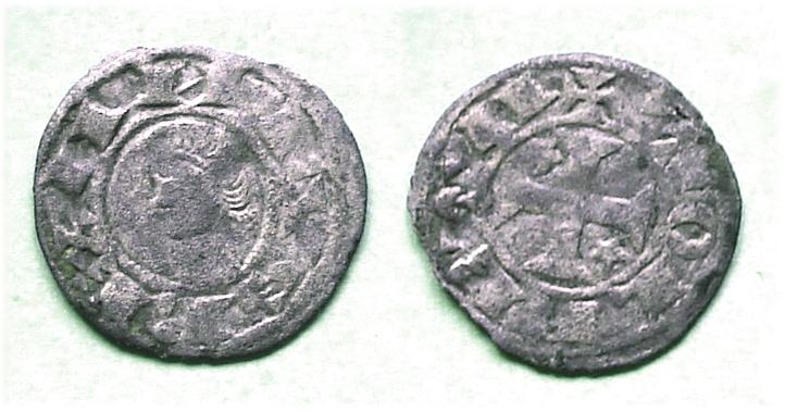 Dineros Pepiones de Alfonso VIII (1157-1256) Dinero10