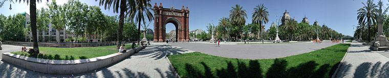 Barcelone (Espagne) Arc10