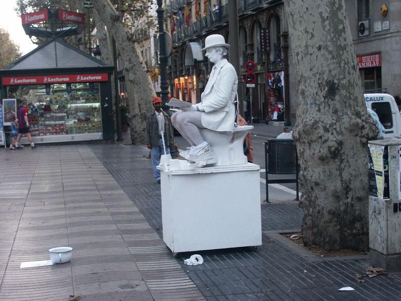Barcelone (Espagne) Rambla10