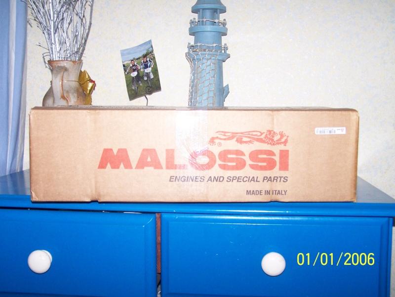 (Projet cadre) + moteur FULL MALOSSI , repos du 50cc - Page 2 Maloss10