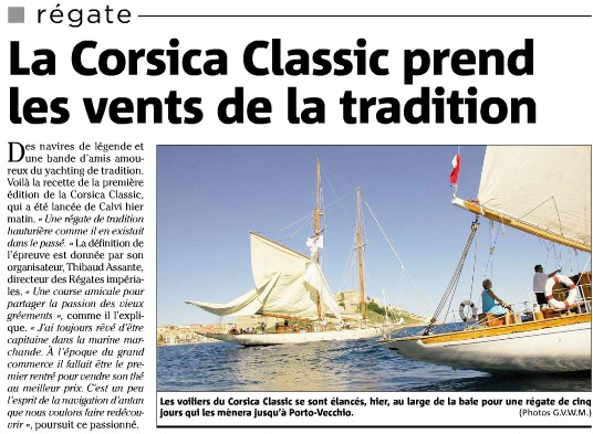 La première Corsica Classic 30 août au 5 septembre 2010 Corsic11