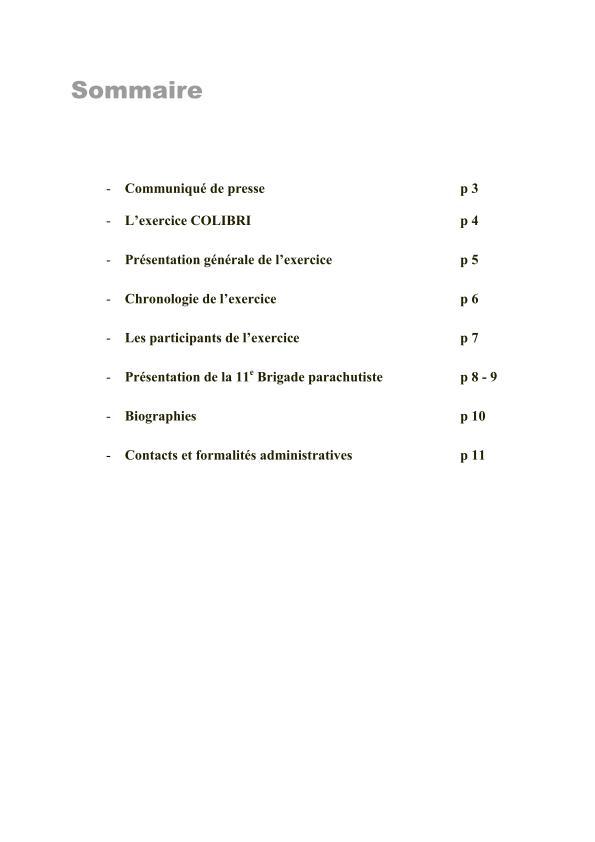 11ème Brigade Parachutiste - Exercice Interalliés COLIBRI septembre 2012 2012_015