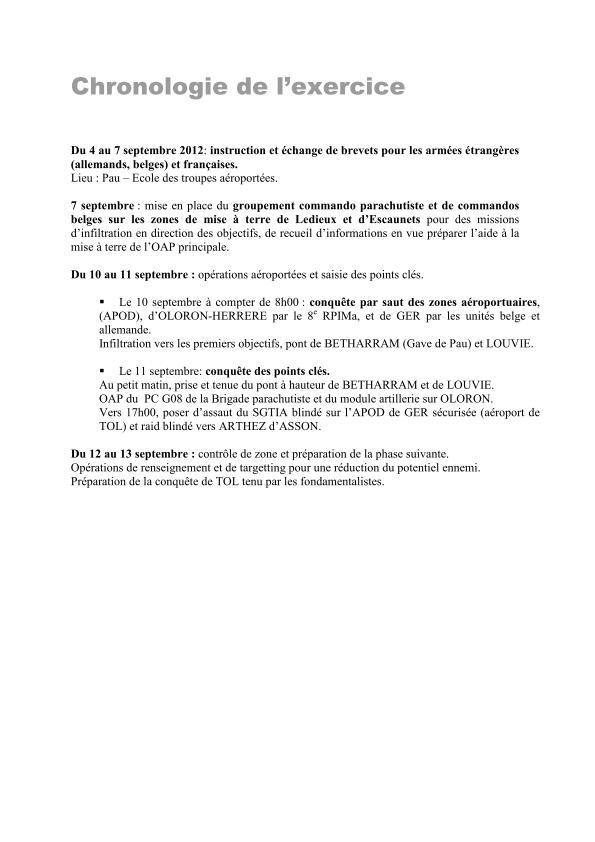 11ème Brigade Parachutiste - Exercice Interalliés COLIBRI septembre 2012 2012_019