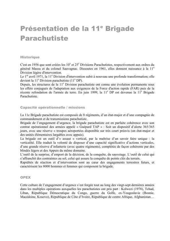 11ème Brigade Parachutiste - Exercice Interalliés COLIBRI septembre 2012 2012_021