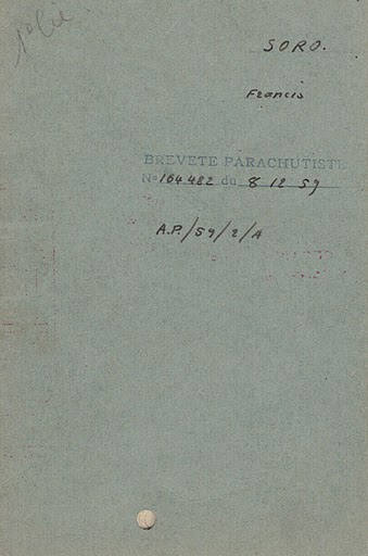 SORO Francis Chasseur Parachutiste 1er RCP assassiné par le FLN 23 juillet 1961 Coro_b11