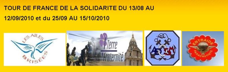 """Un tour de France à vélo pour des dons à 4 associations dont l' """"Entraide parachutiste"""" Entrai10"""