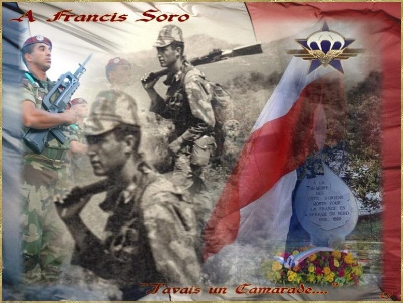 SORO Francis Chasseur Parachutiste 1er RCP assassiné par le FLN 23 juillet 1961 Franci11