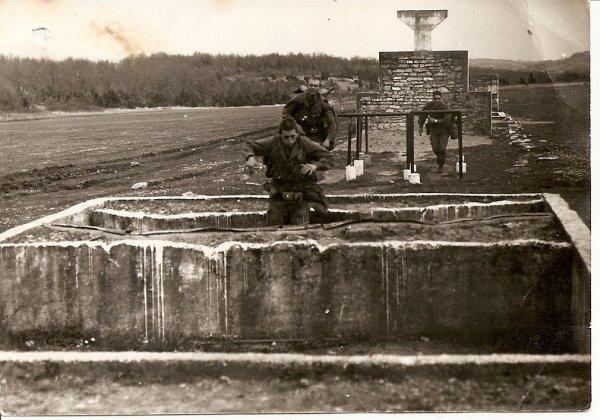 1974-1975 parcours du combattant camp d'Idron Boleslaw Niepsujewicz 1er RCP Parcou13