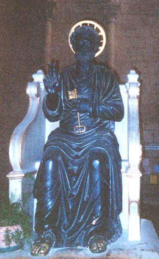 Chaire de saint Pierre à Antioche Chaire11