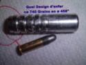 Pas de rayure des canons et poids des balles Fil33210