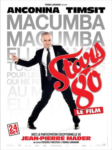 """Les affiches du film """"STARS 80"""" !! 1110"""