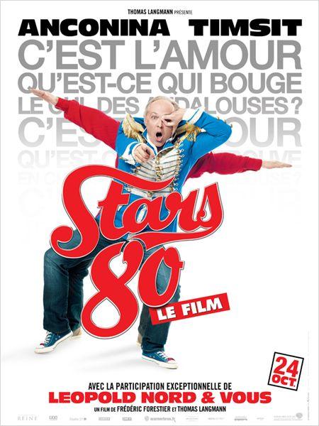 """Les affiches du film """"STARS 80"""" !! 1210"""
