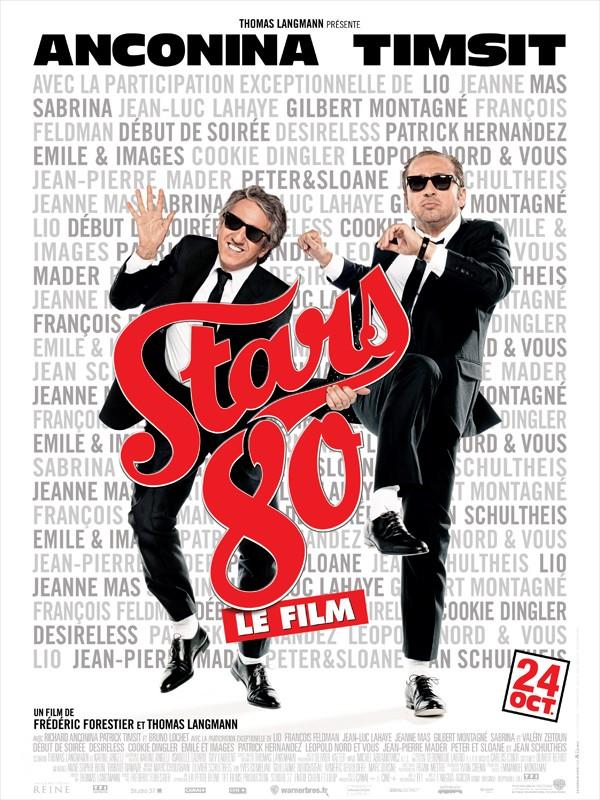 """Les affiches du film """"STARS 80"""" !! 1510"""