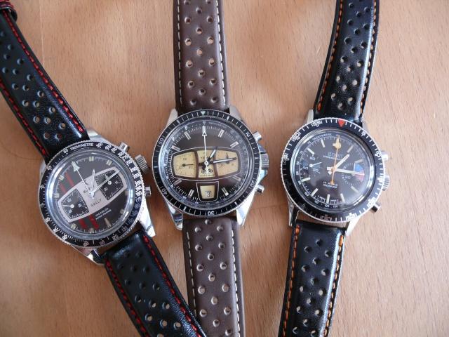 chronos vintage et bracelets racing/rallye , la suite ... P1020311